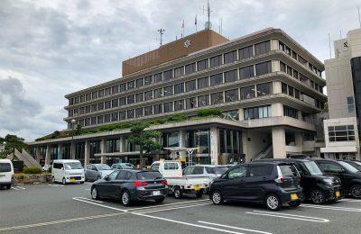 福知山市役所駐車場
