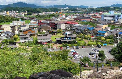 福知山城公園観光駐車場